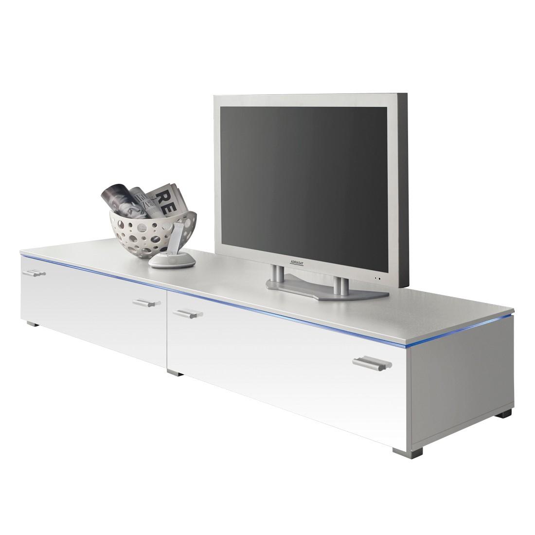 TV-Element Jolly II – mit zwei Klappen – Hochglanz Weiß – 110 cm, California günstig online kaufen