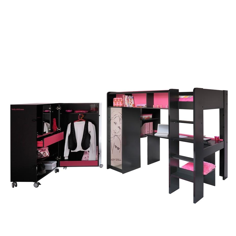 couchtisch nora schwarz hochglanz mit ablage young furn im online m belhaus bestellen. Black Bedroom Furniture Sets. Home Design Ideas