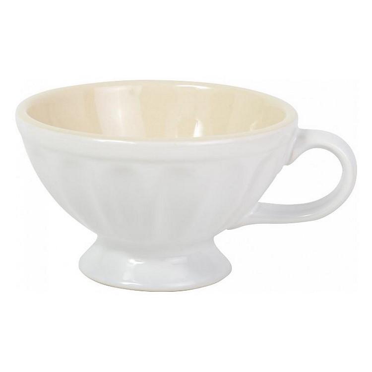 Jumbobecher – Keramik – weiß, Ib Laursen kaufen