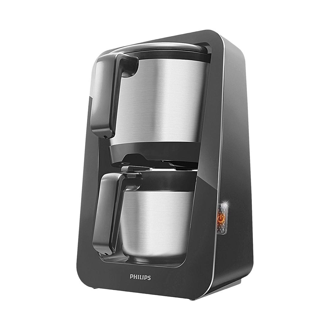 Kaffeeautomat Avance HD 7698 20 – Gehäuse: Kunststoff, Kanne und Kaffee-/Wasserbehälter: Edelstahl Schwarz, Philips günstig online kaufen