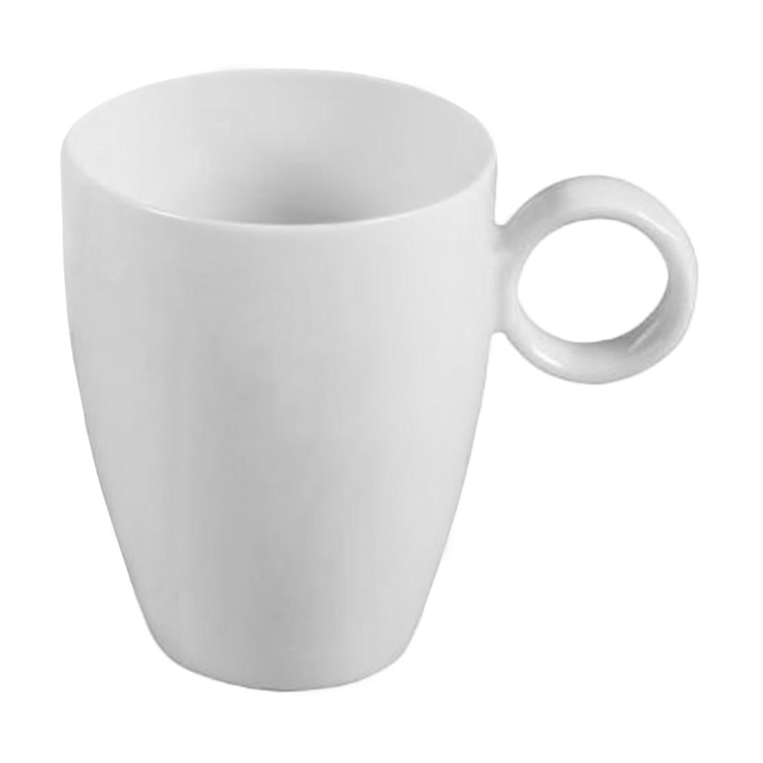 kaffeebecher vario pure 6er set porzellan wei thomas online bestellen. Black Bedroom Furniture Sets. Home Design Ideas