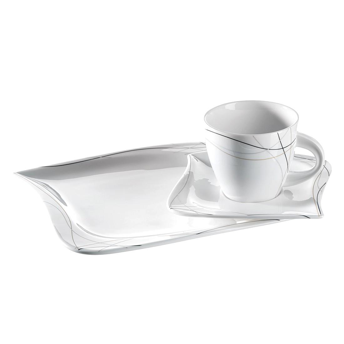 Kaffeeservice (18- teilig) Caprice – Porzellan/Mehrfarbig, Mäser günstig kaufen