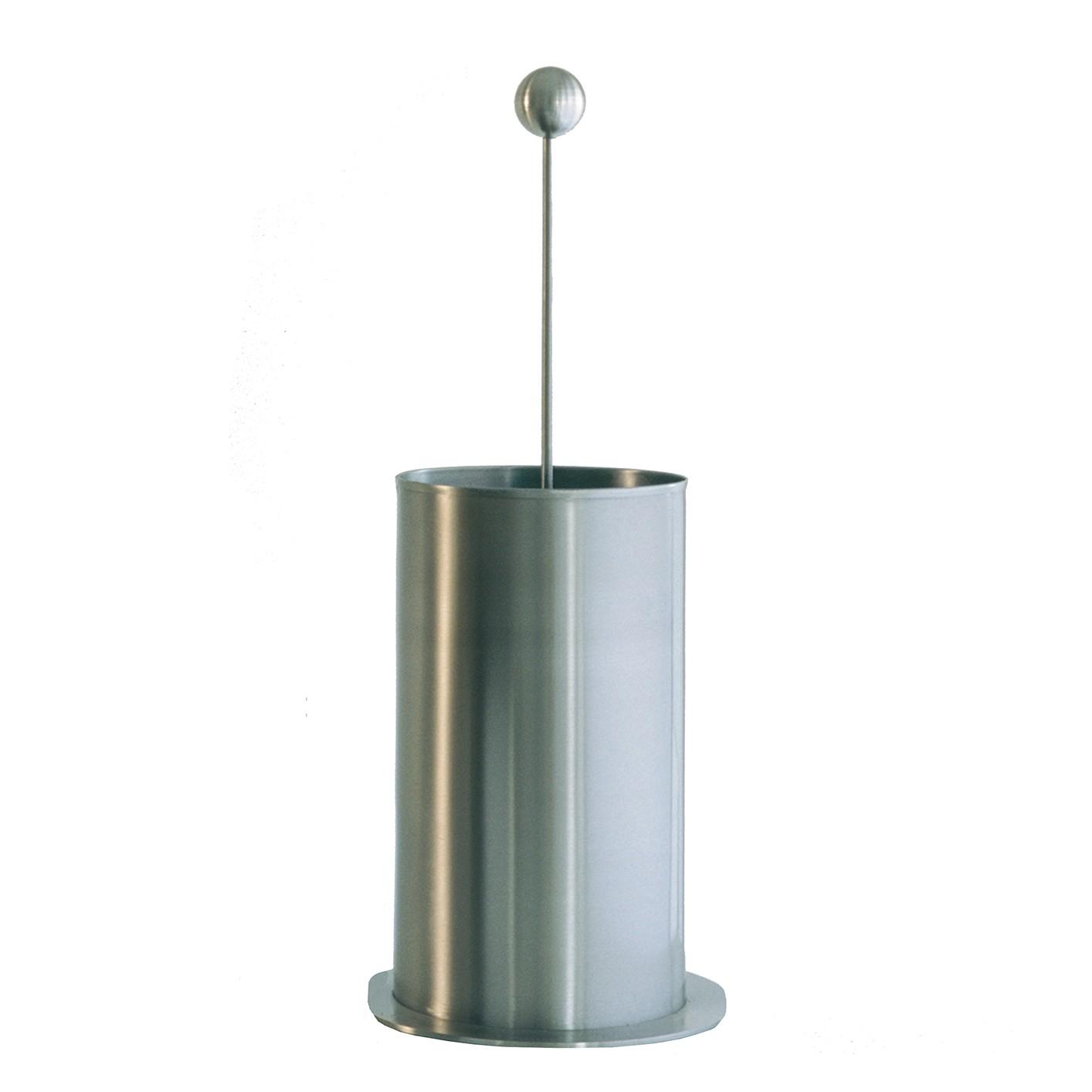 Kaminbesteckablage Bibí Mehrzweckbehälter - Edelstahl - Silber, Conmoto