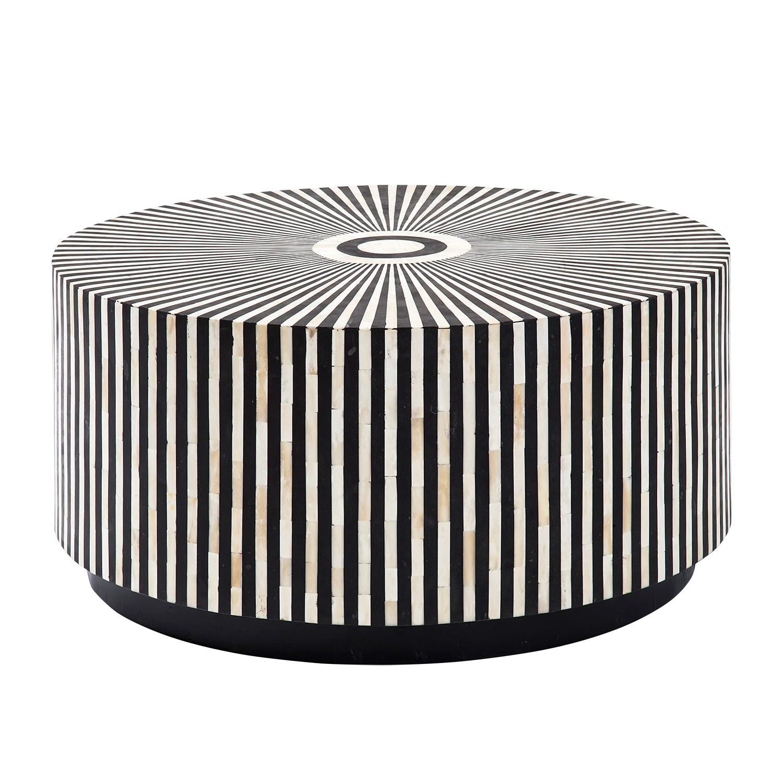 Couchtisch Electra - Schwarz / Weiß, Kare Design