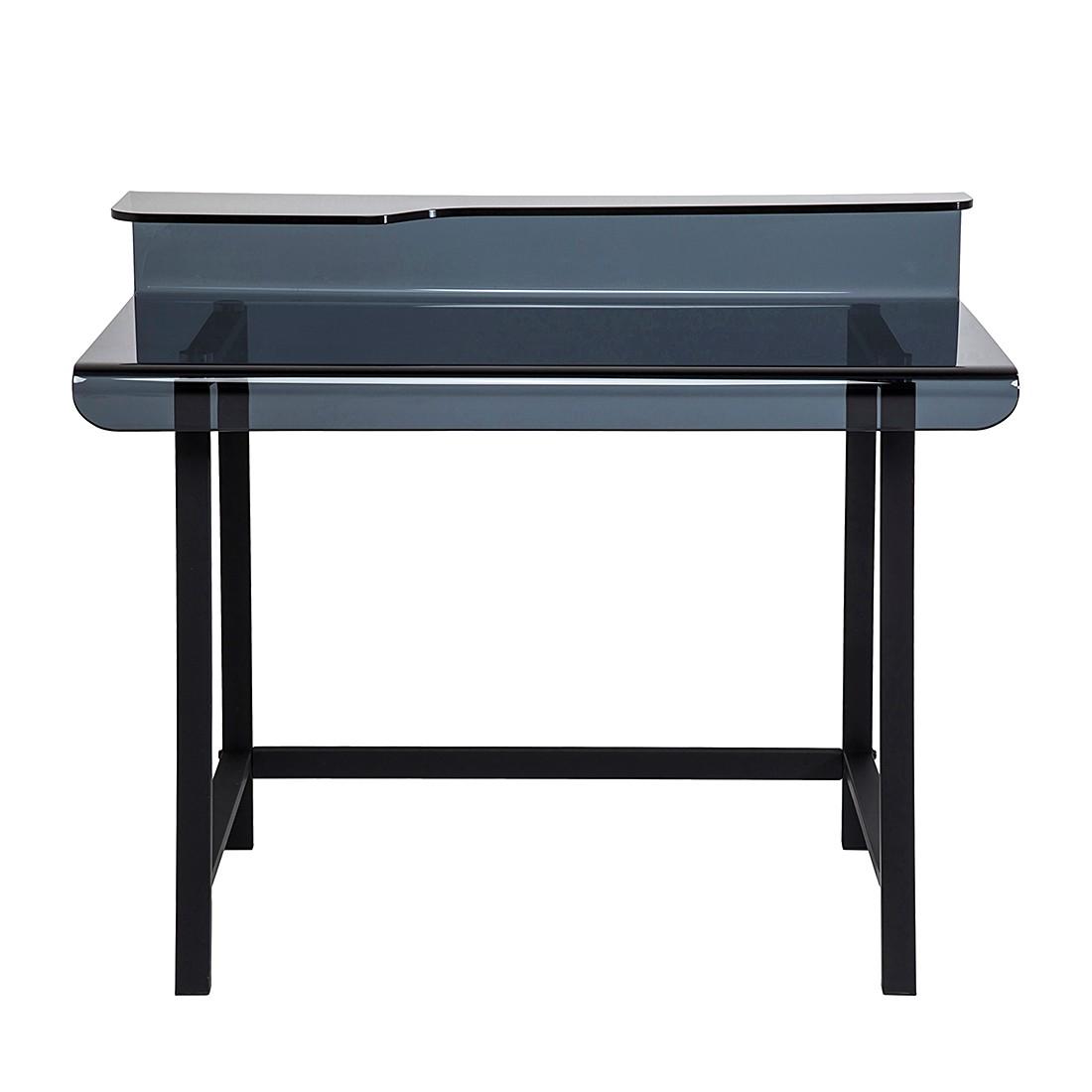 Schreibtisch Visible Grey - Glas/Metall, Kare Design