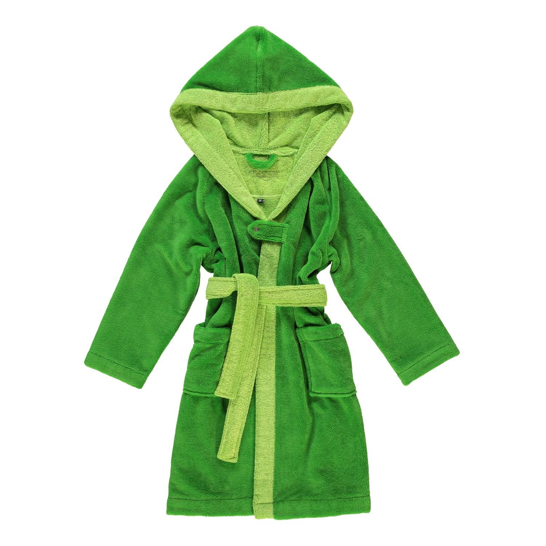 Kinderbademäntel Multifaser Bixie - Polyester /Viskose/Baumwolle - Valley Green - 92, Vossen