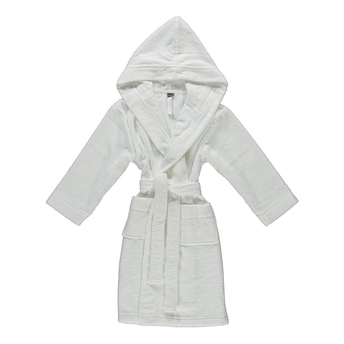 Kinderbademantel Basic – Kinder – FRottier – 100% Baumwolle Weiß – 100 – Größe: 140, Schiesser günstig