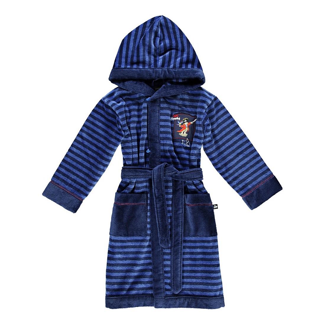 Kinderbademantel Captn 5 – Kinder – Velours – 85% Baumwolle – 15% Polyester Blau – 899 – Größe: 92, Morgenstern bestellen