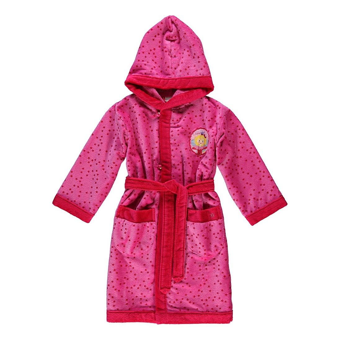 Kinderbademantel Stern – Kinder – Velours – 85% Baumwolle – 15% Polyester bonbonRosa – 599 – Größe: 104, Morgenstern jetzt kaufen