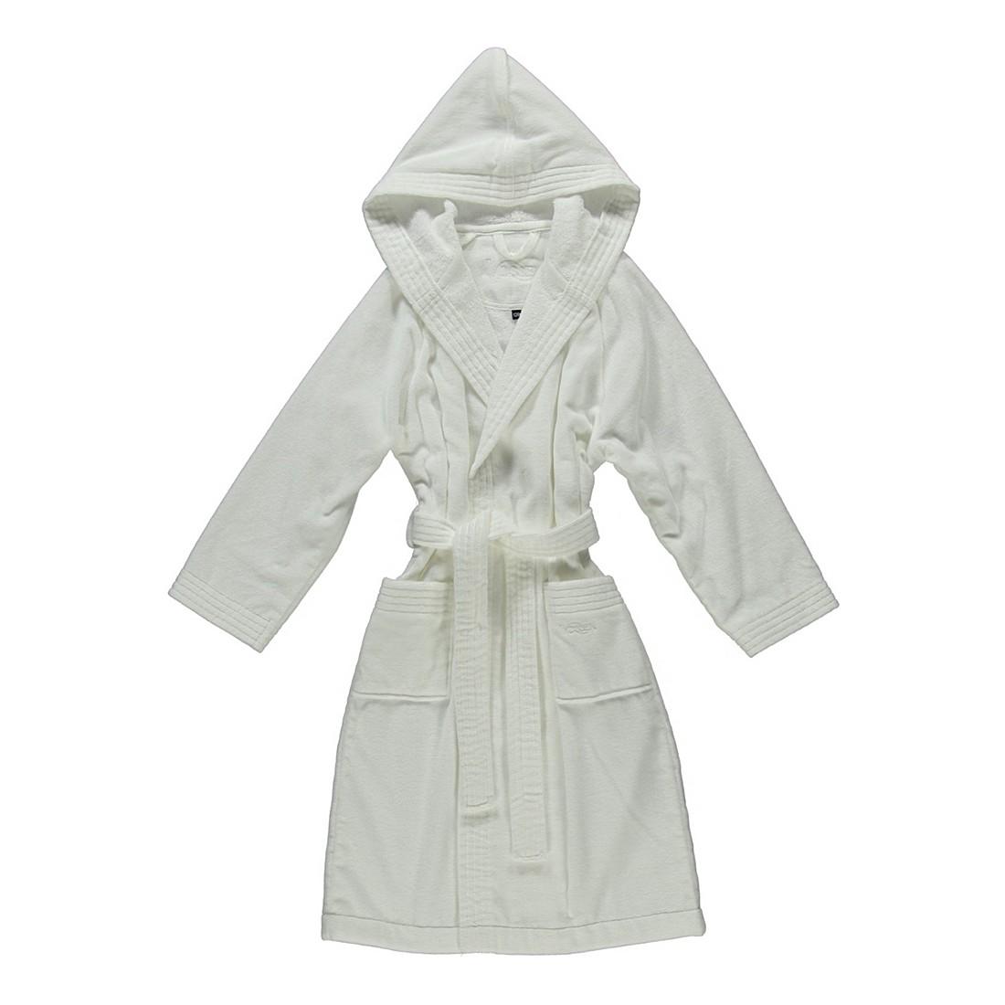 Kinderbademantel Texie – Kinder – Velours – 100% Baumwolle Weiß – 030 – Größe: 140, Vossen günstig