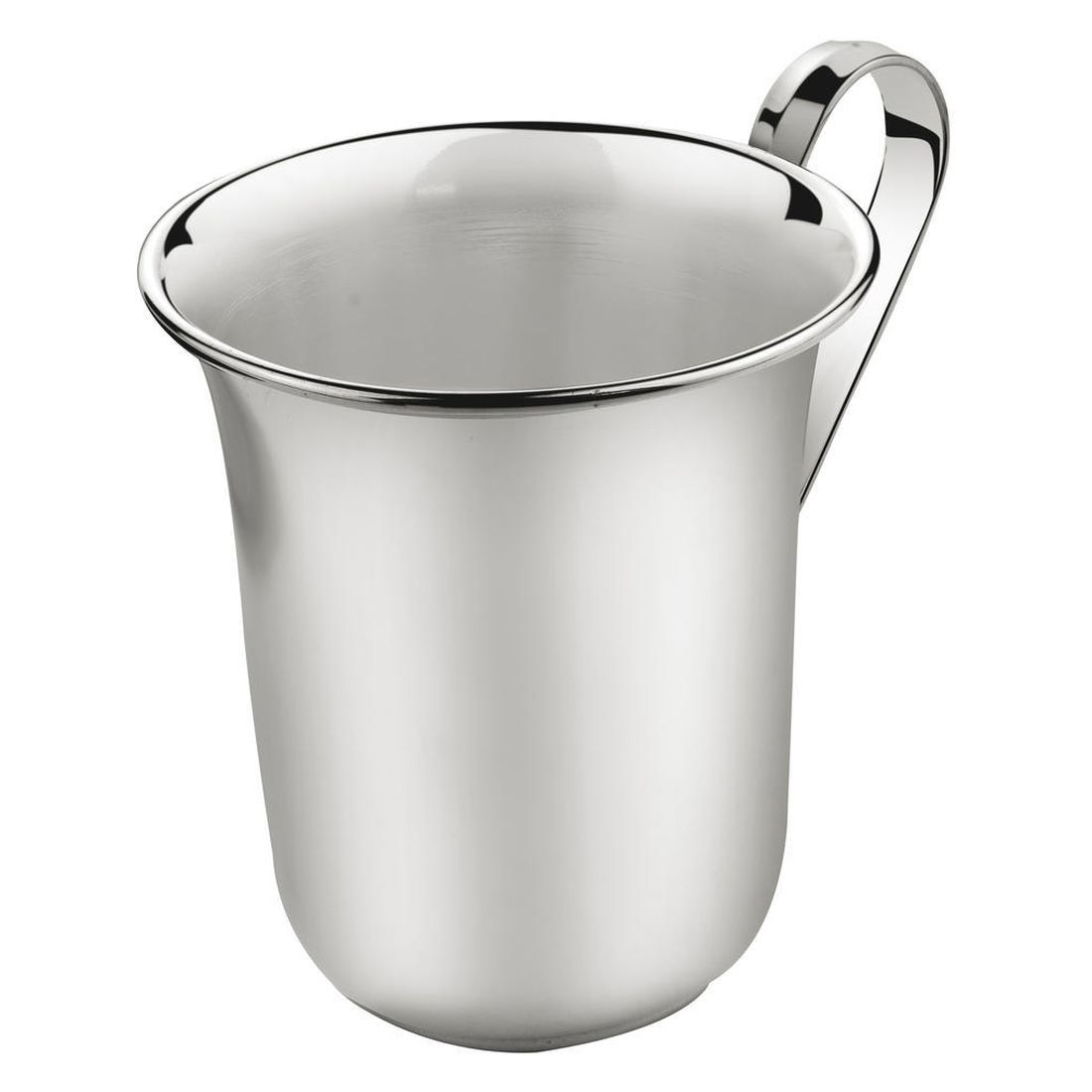 Kinderbecher Tulpenfom/Henkel – Versilbert – Silber, Zilverstad online kaufen