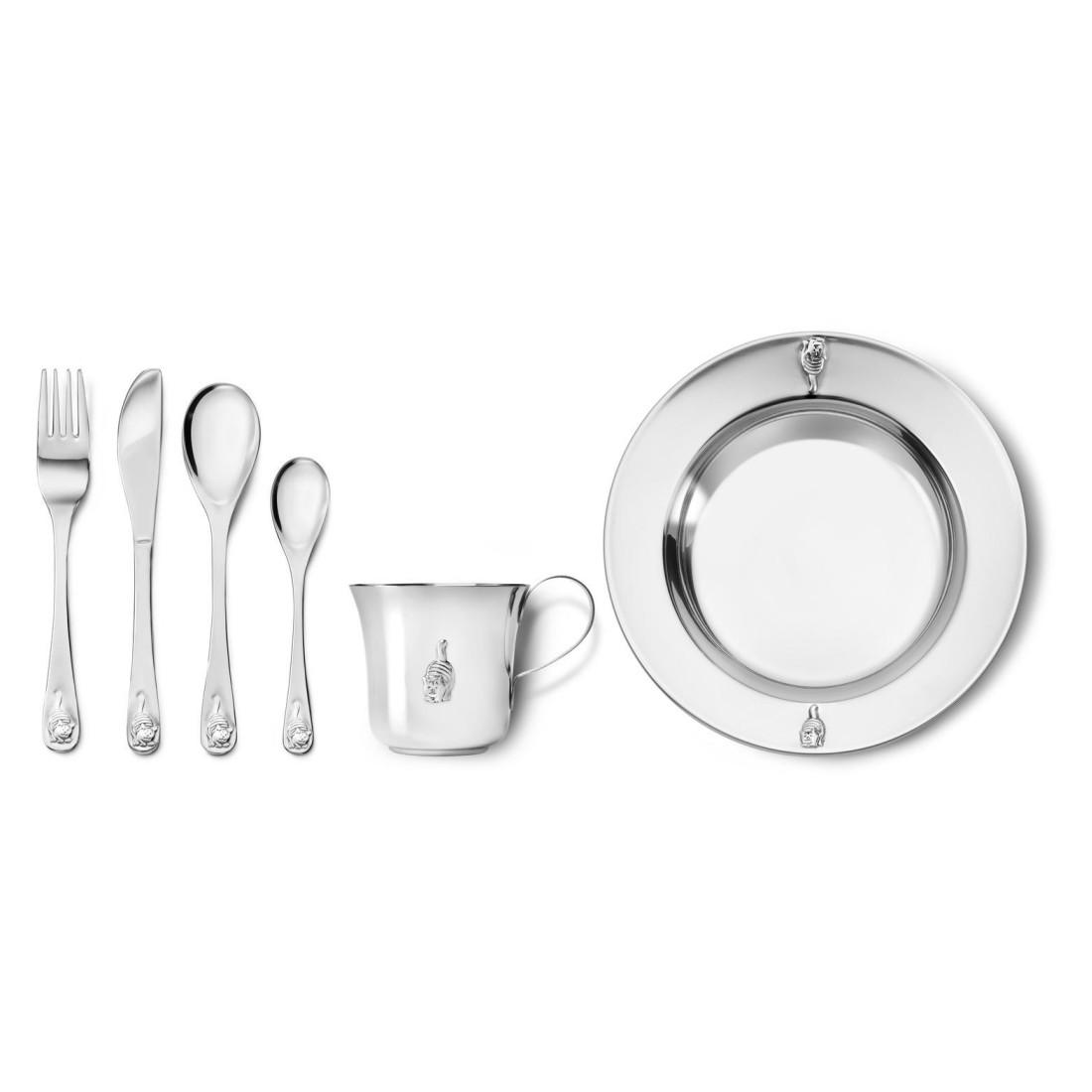 Kinderbesteck Dikkie Dik (6-teilig) – Metall – Silber, Zilverstad kaufen