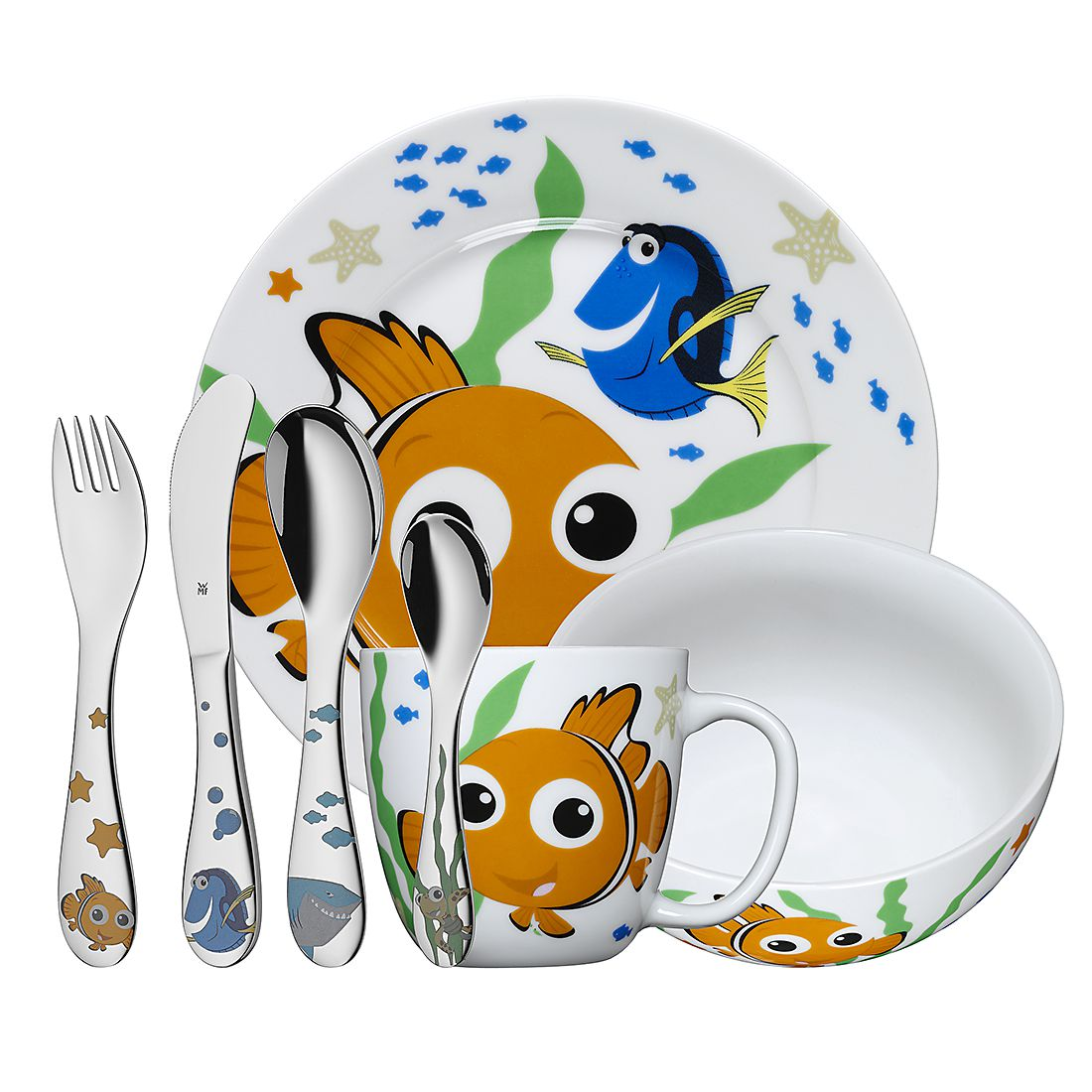 Kinderbesteck Nemo (7er-Set), WMF jetzt kaufen