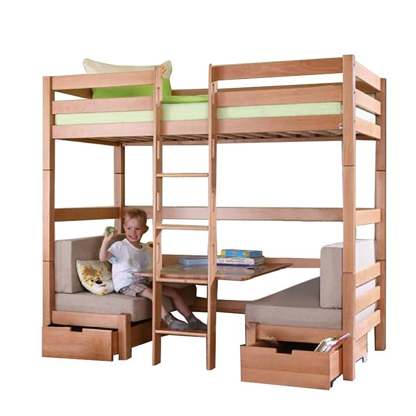 kinderbett finley buche massiv natur lackiert relita online kaufen. Black Bedroom Furniture Sets. Home Design Ideas