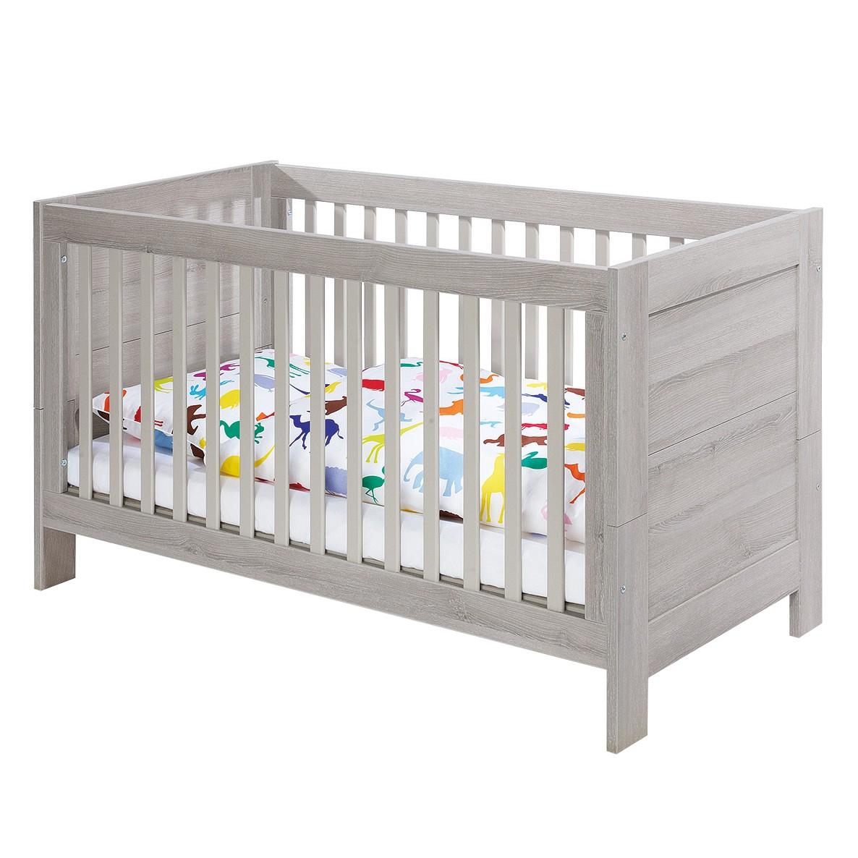 Kinderbett Somio Kids - Esche Schilfgrau Dekor, Pinolino
