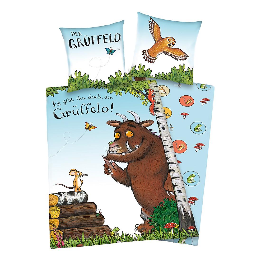 Kinderbettwäsche Der Grüffelo – Renforcé/Mehrfarbig, Herding online bestellen