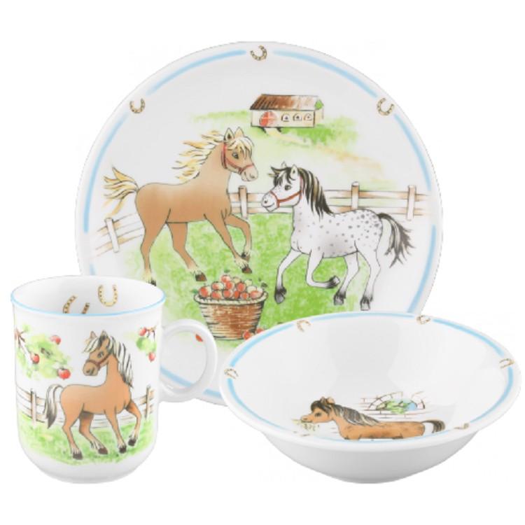 Kinderset Compact (3-teilig) – Mein Pony, Seltmann Weiden günstig bestellen