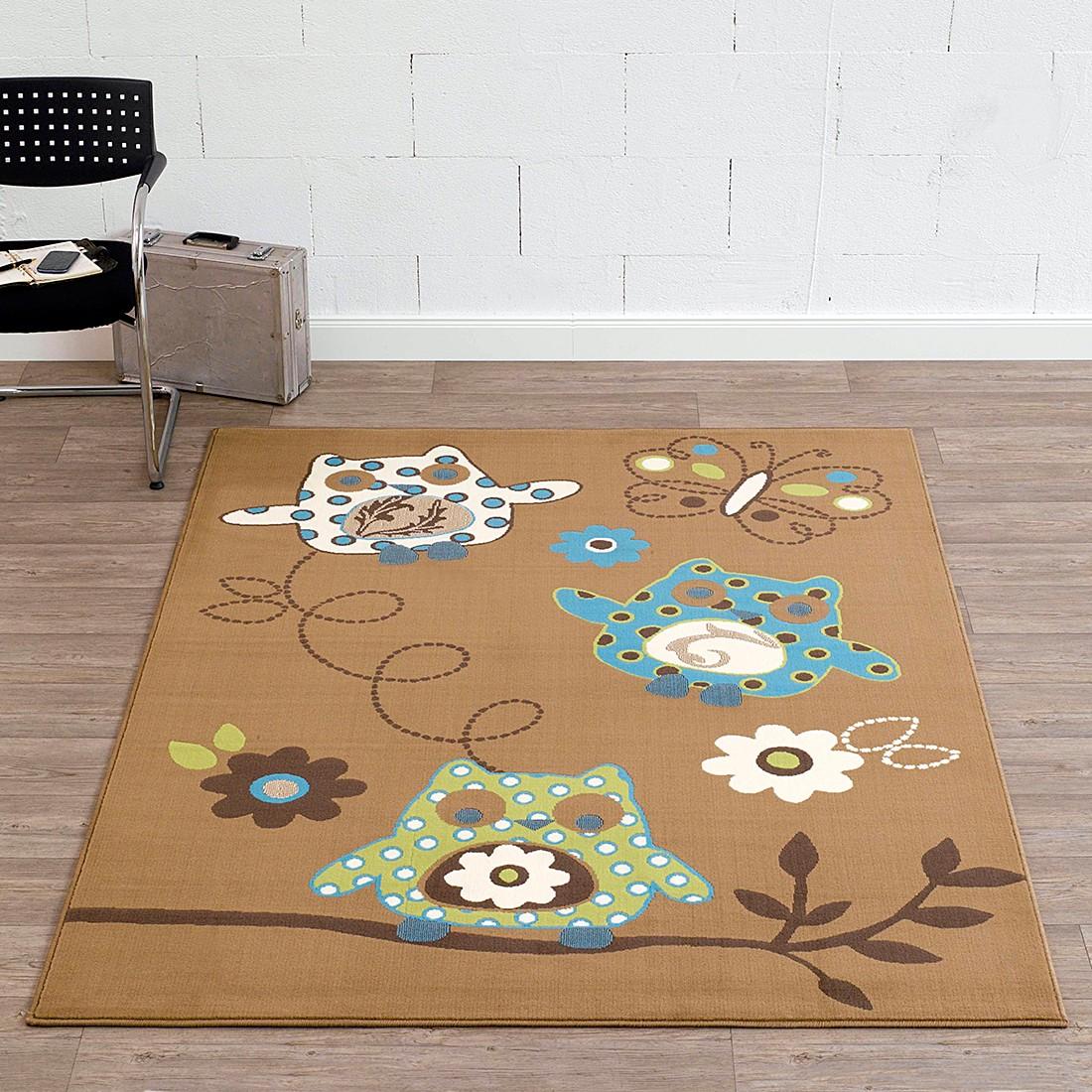 Kinderteppich Eulen – Braun, Hanse Home Collection jetzt bestellen