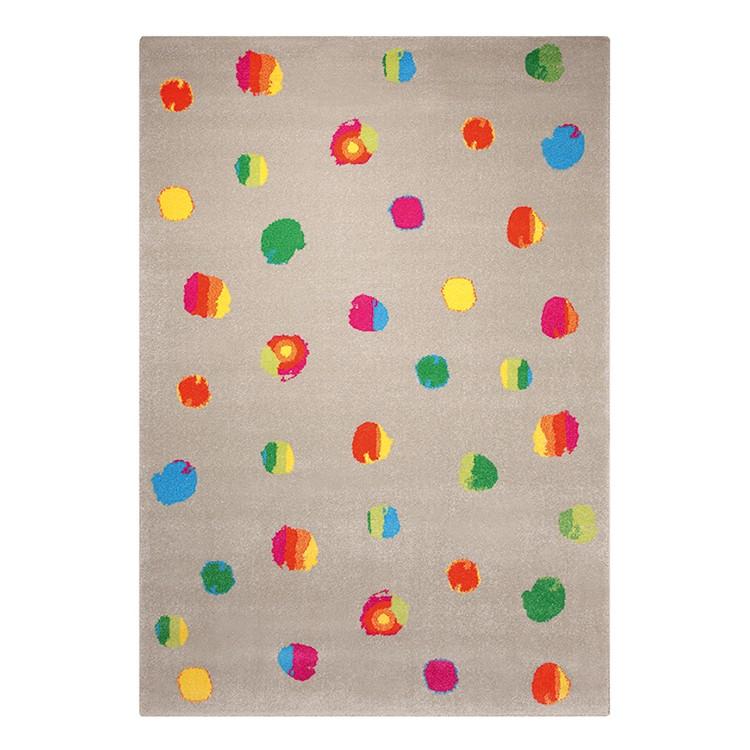 Kinderteppich Funny Dots – Taupe/Multicolor – Maße: 160 x 225 cm, Esprit Home online kaufen