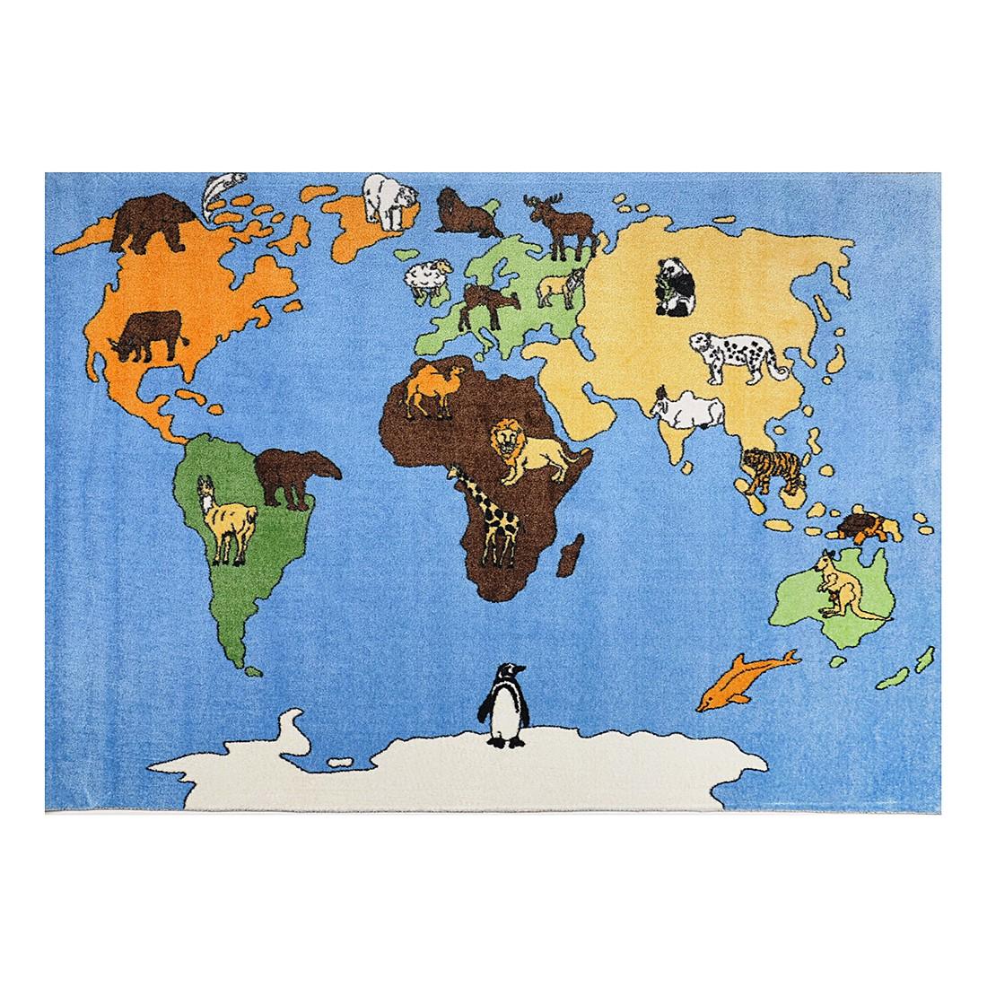 Kinderteppich Mamba – Blau – 170 cm x 240 cm, THEKO die markenteppiche jetzt bestellen