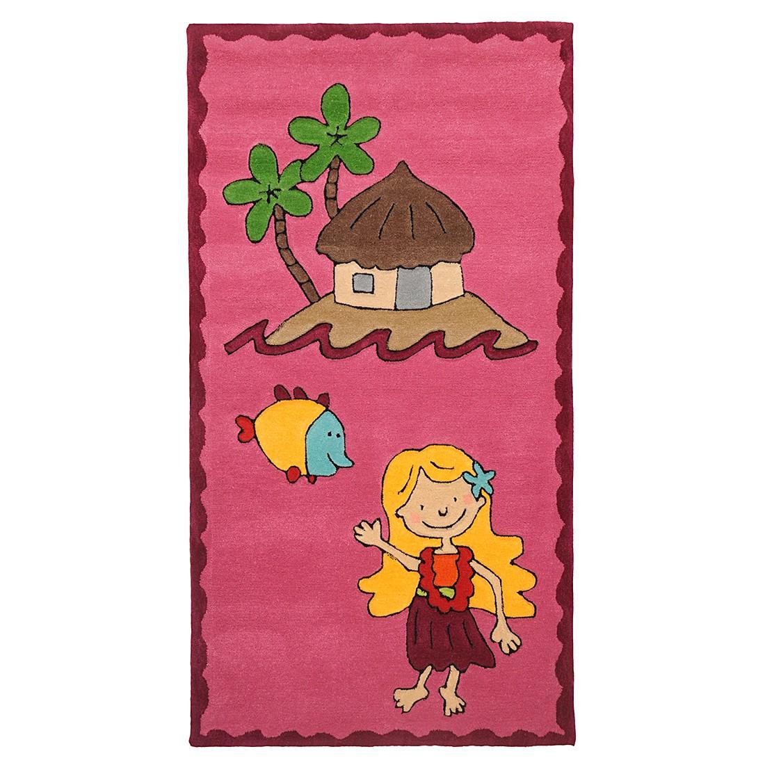 Kinderteppich Maui – Pink – 120 cm x 180 cm, THEKO die markenteppiche günstig kaufen