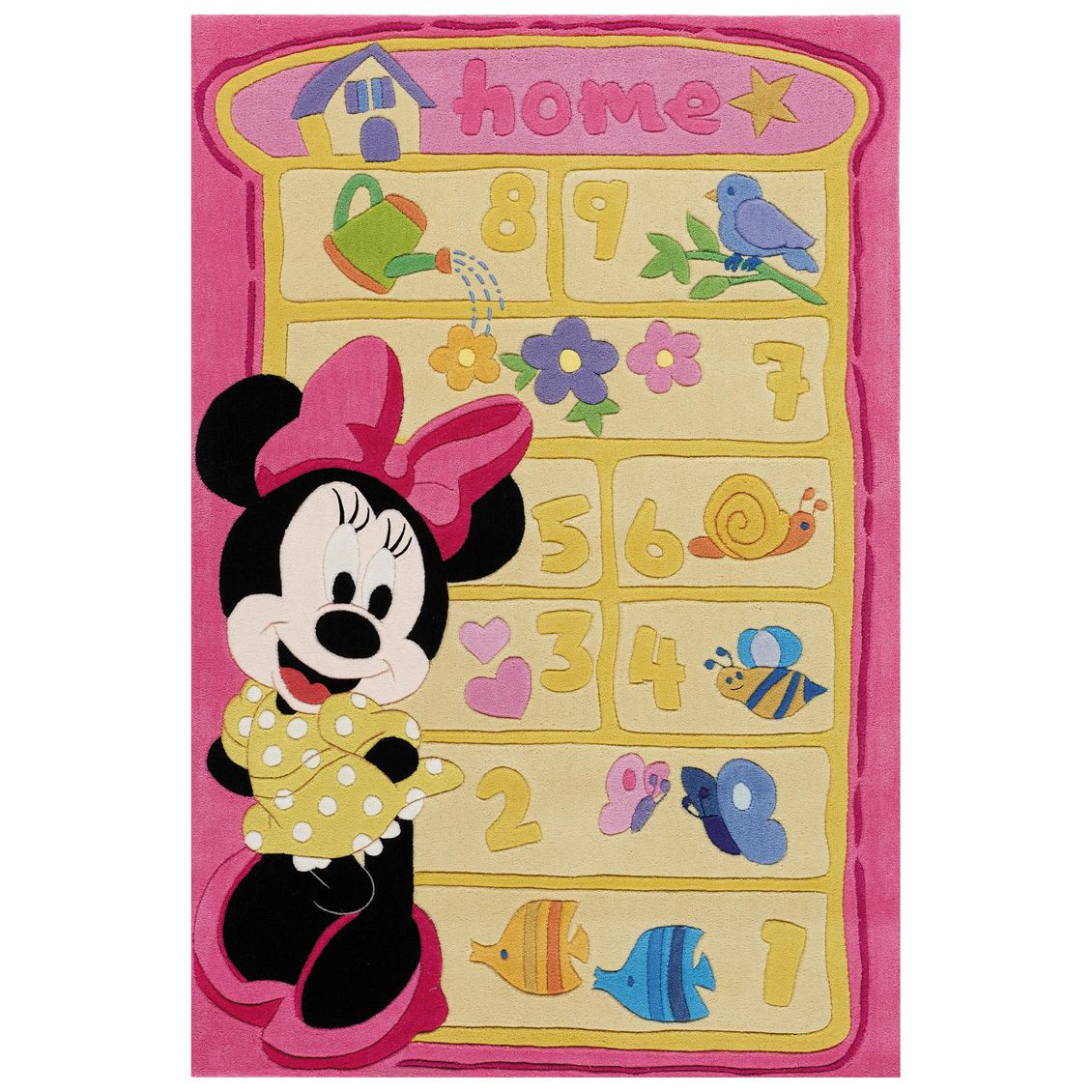 Kinderteppich Minnie Maus – Multicolor, benuta online kaufen