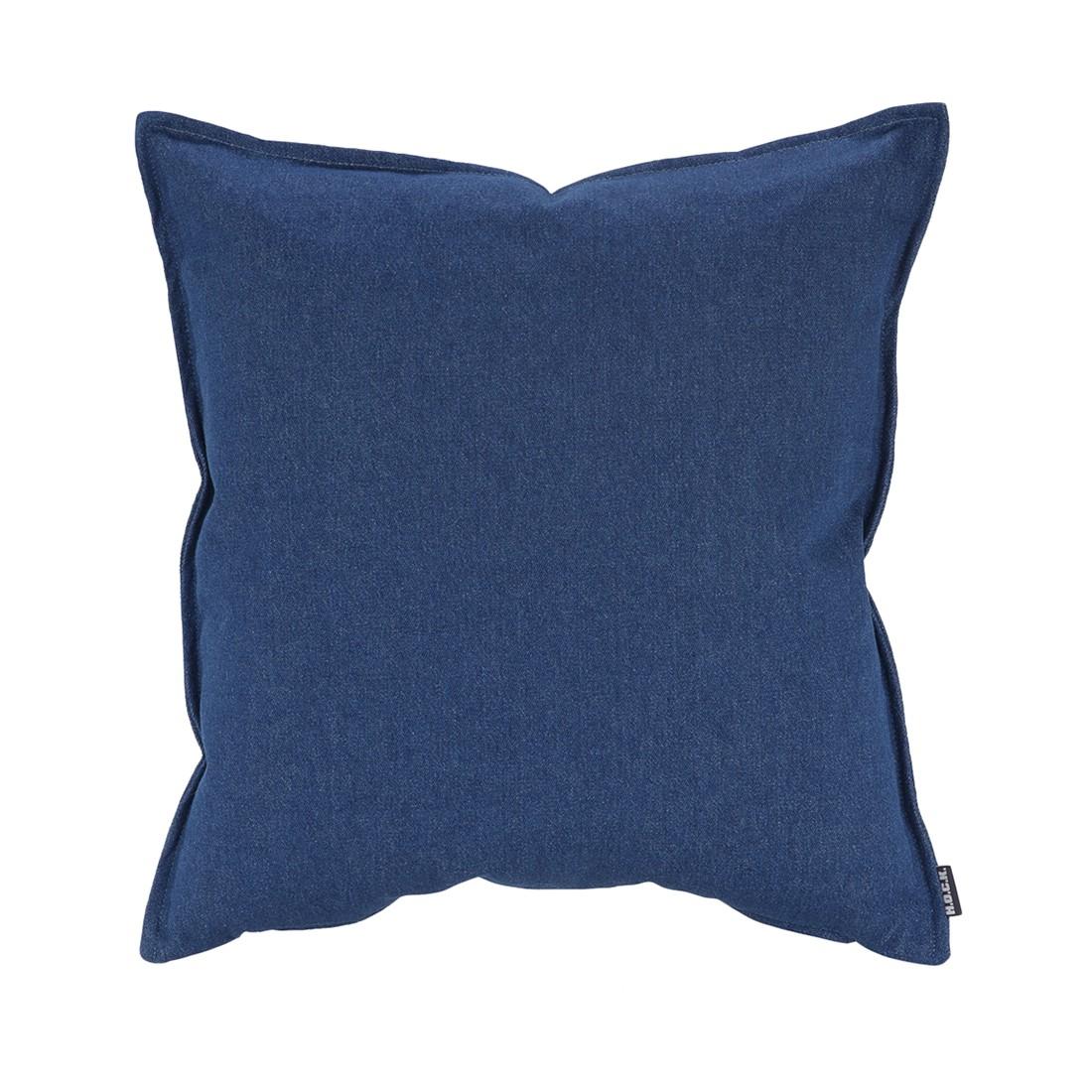 Kissen Denim – Baumwolle – Blau – 50x50cm, H.O.C.K jetzt kaufen