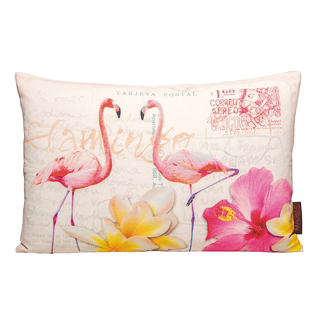 kissen bunte v gel flamingo magma heimtex jetzt kaufen. Black Bedroom Furniture Sets. Home Design Ideas