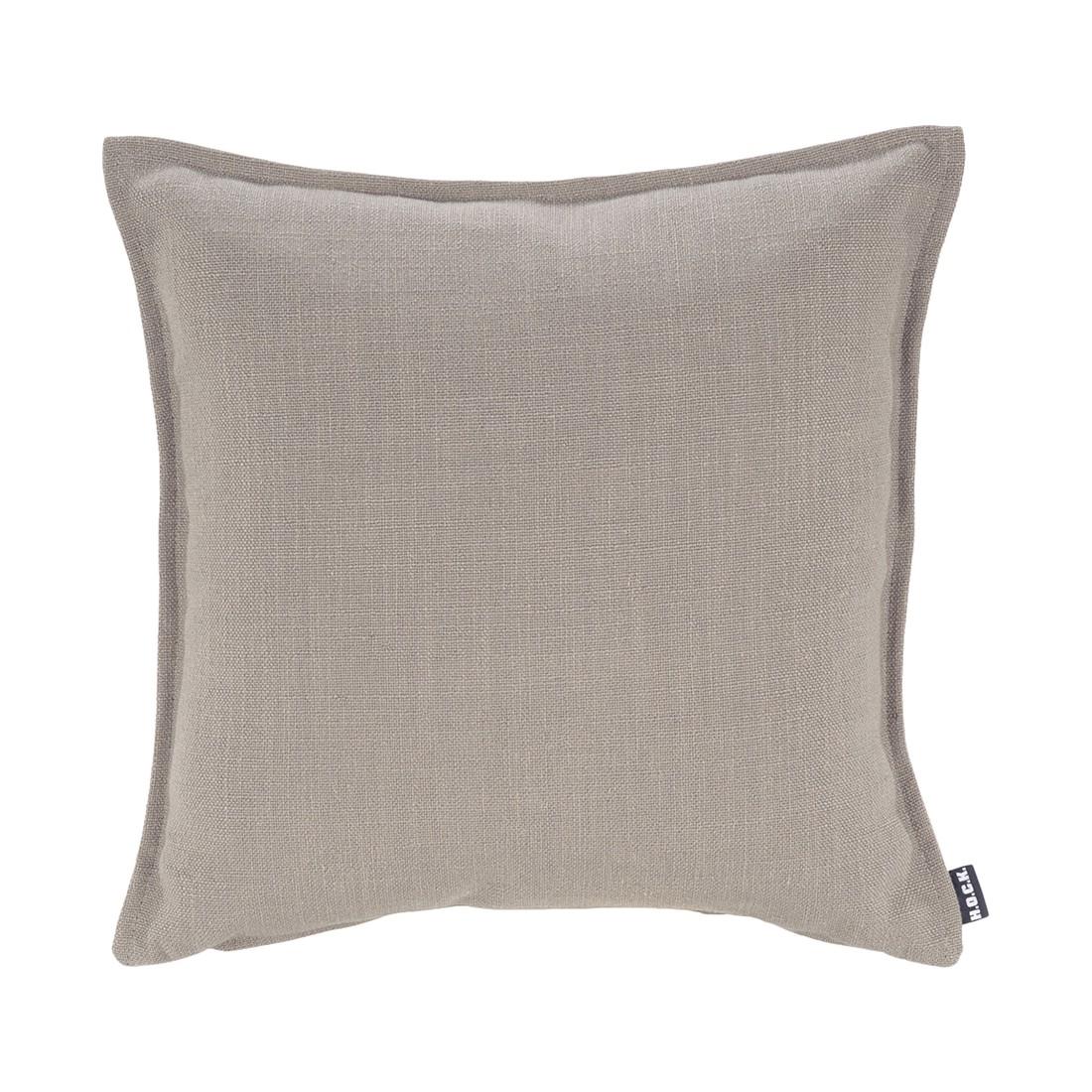 Kissen Manhattan – Leinen – Grau – 45x45cm, H.O.C.K bestellen