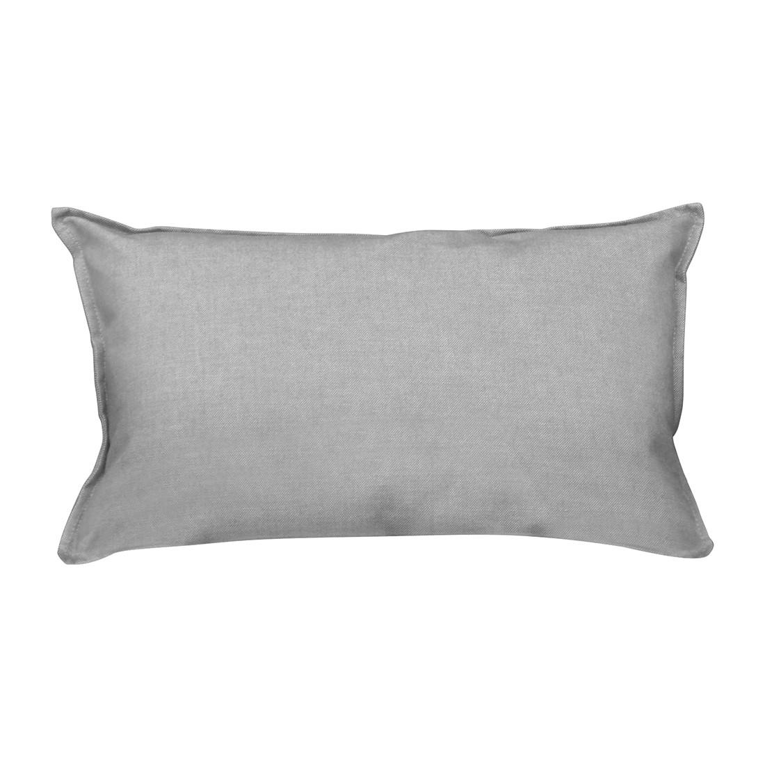 Kissen Pillow - Webstoff Taupe, Jan Kurtz