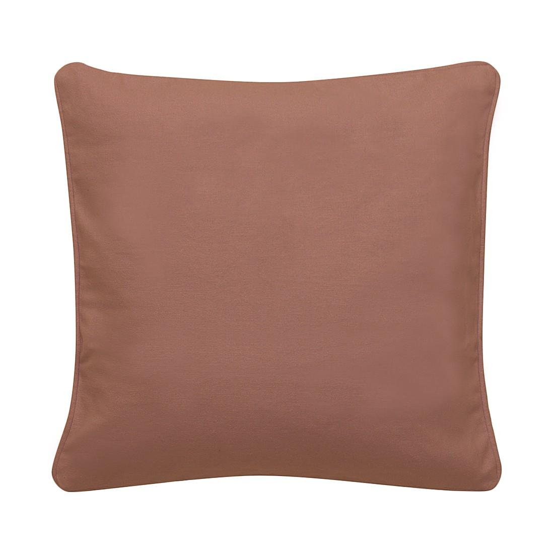 Kissen Alba – 50 X 50 cm, Lila, Baumwolle Typ 3 – Kissenhülle, ohne Füllung, Dutch Decor kaufen