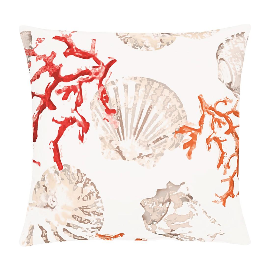Kissenhülle Atlantik – 100% Baumwolle – Rot – 49 x 49 cm, Apelt günstig