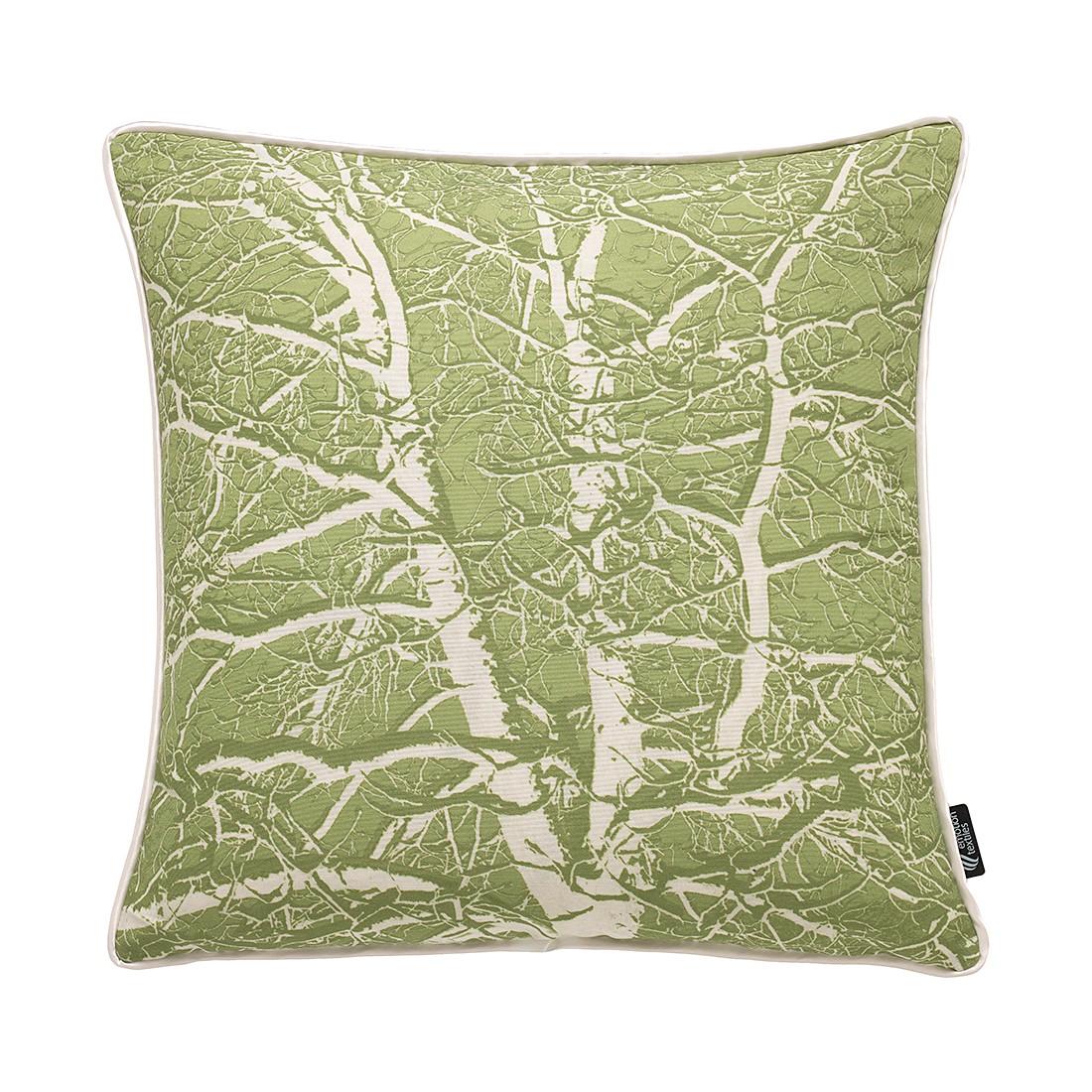 Kissenhülle Birke – Grün, emotion textiles günstig kaufen