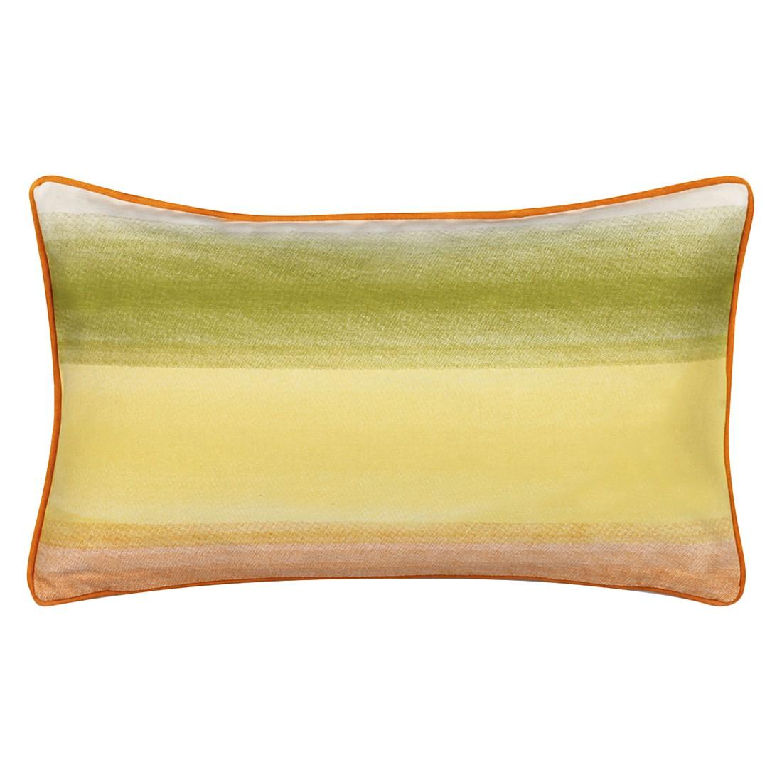 Kissen Buenavista – 30 X 50 cm, Grün, Baumwolle Typ 2 – Kissenhülle, ohne Füllung, Dutch Decor günstig