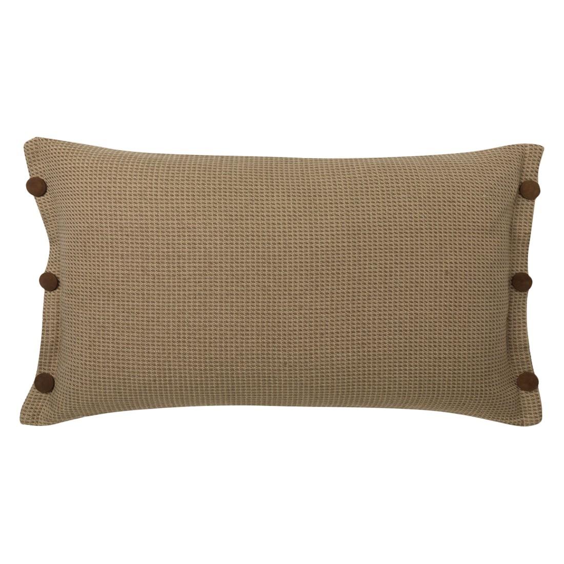 Kissen Burton – 40 X 60 cm, Taupe, Baumwolle – Kissenhülle, ohne Füllung, Dutch Decor bestellen