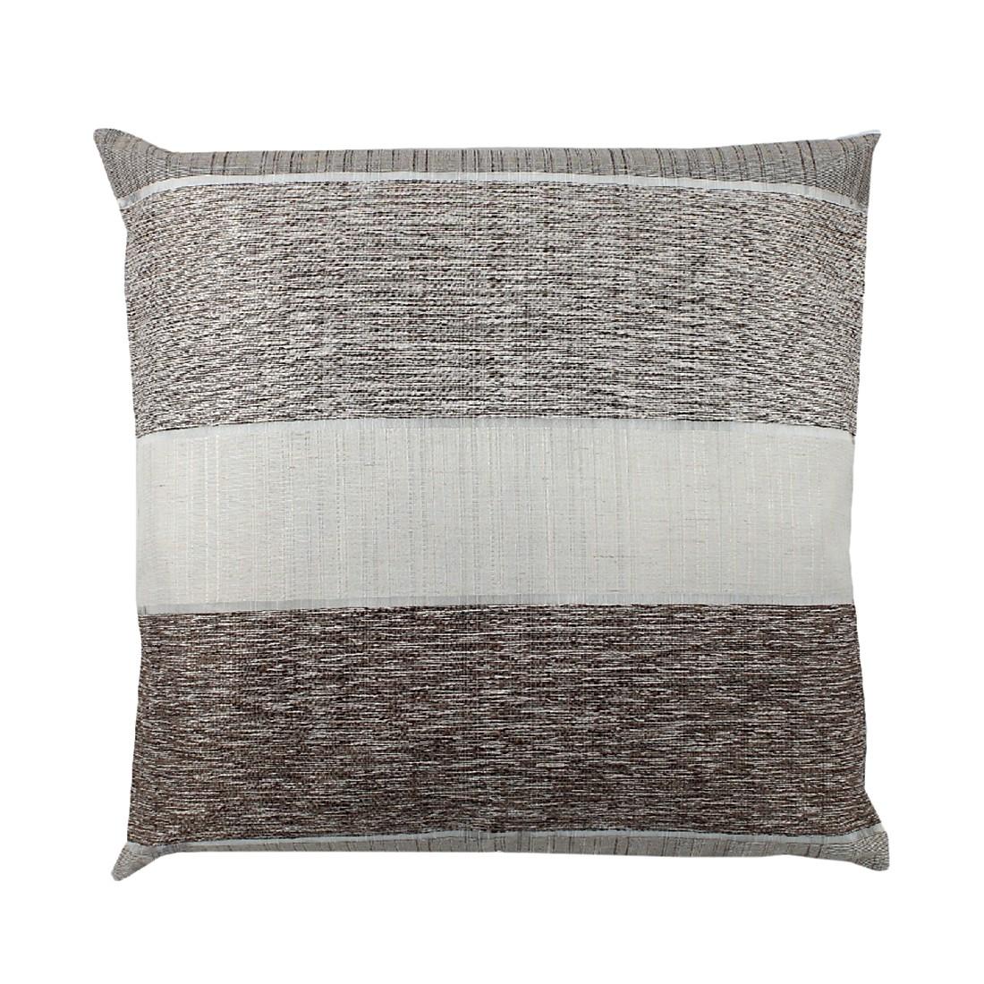 Kissenhülle Merdano – Braun – 40 x 40 cm, Home Wohnideen günstig online kaufen