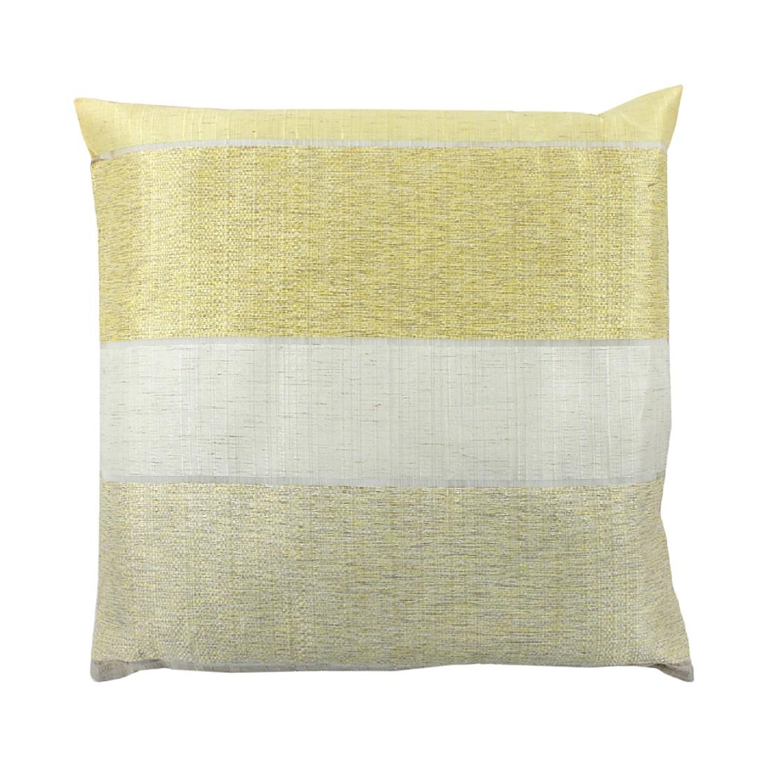 Kissenhülle Merdano – Gelb – 40 x 40 cm, Home Wohnideen online kaufen