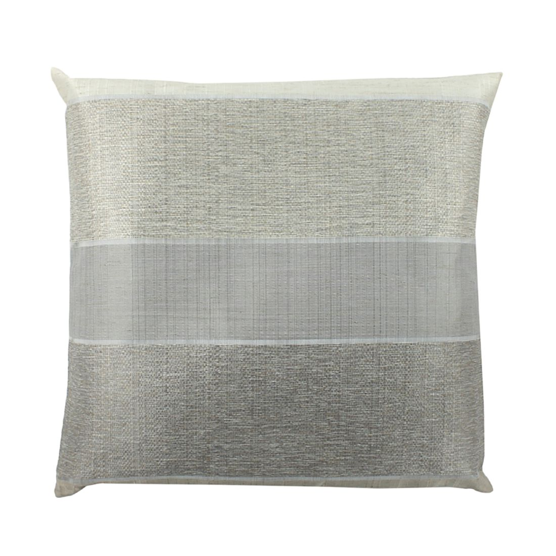 Kissenhülle Merdano – Grau – 40 x 40 cm, Home Wohnideen günstig online kaufen