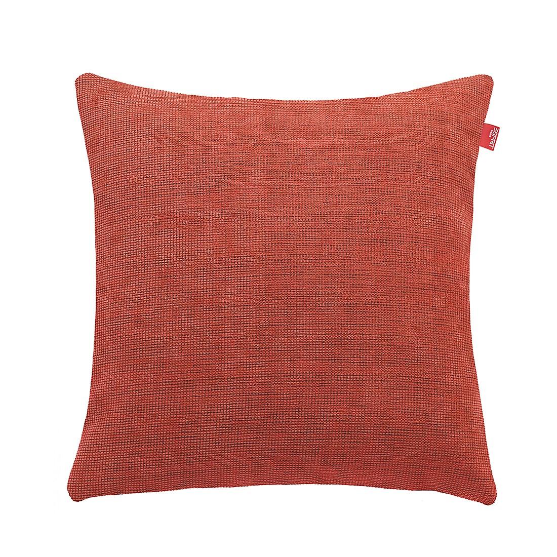 Kissenhülle E-Base – Rot – Größe: 50 x 50 cm, Esprit Home günstig kaufen