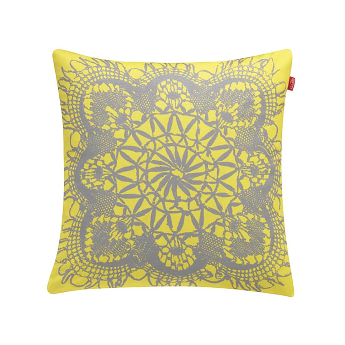 Kissenhülle E-Lace – Gelb, Esprit Home günstig bestellen