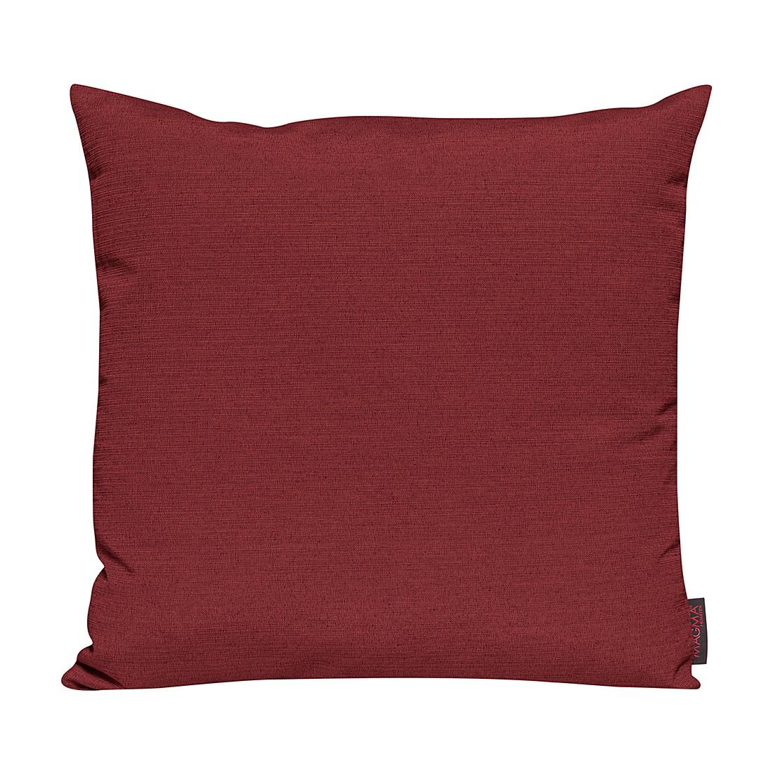 Kissenhülle Franca – Rot – 50 x 50 cm, Magma-Heimtex bestellen
