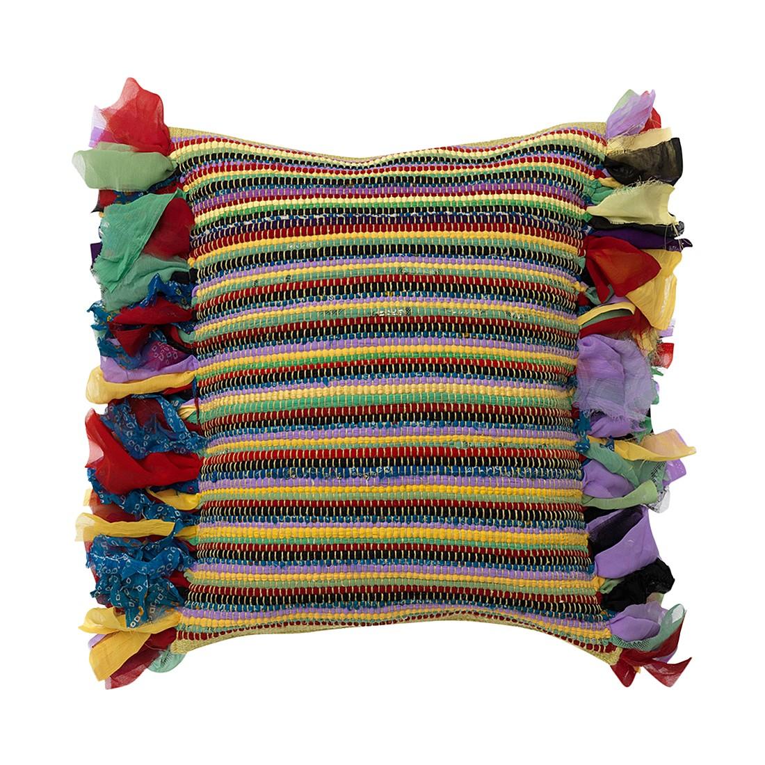 Kissen Manaia – 45 X 45 cm, Multi, Polyester / Baumwolle – Kissenhülle, ohne Füllung, Dutch Decor günstig bestellen
