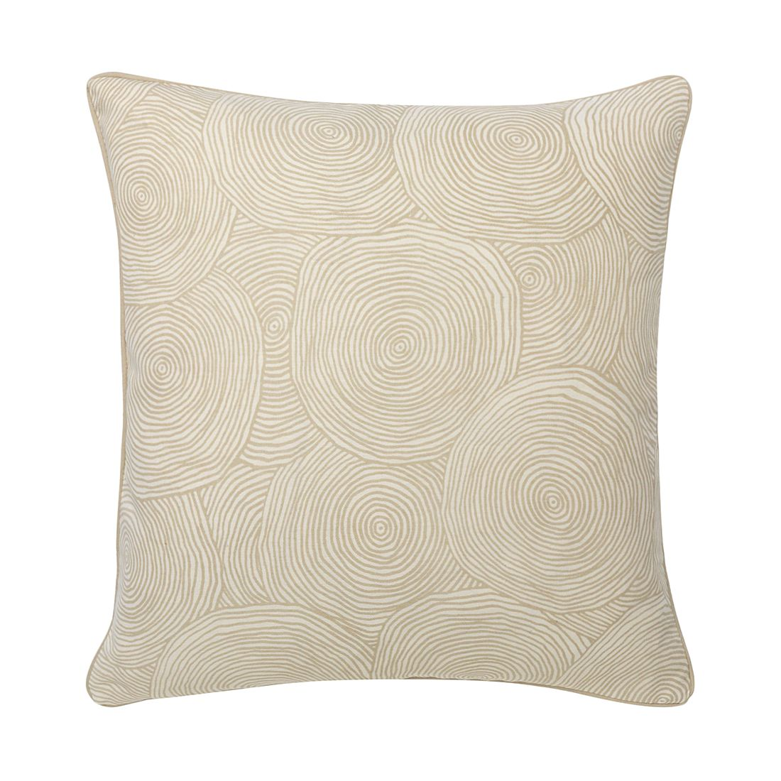 Kissen Marino – 50 X 50 cm, Kiesel, Baumwolle – Kissenhülle, ohne Füllung, Dutch Decor günstig kaufen