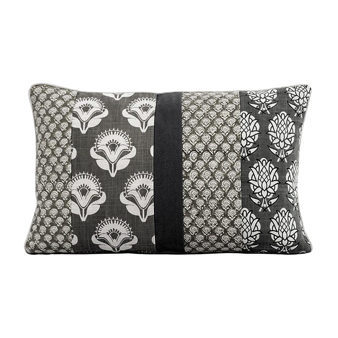 Kissenhülle Melange – Baumwolle – Grau/Beige, PureDay jetzt bestellen