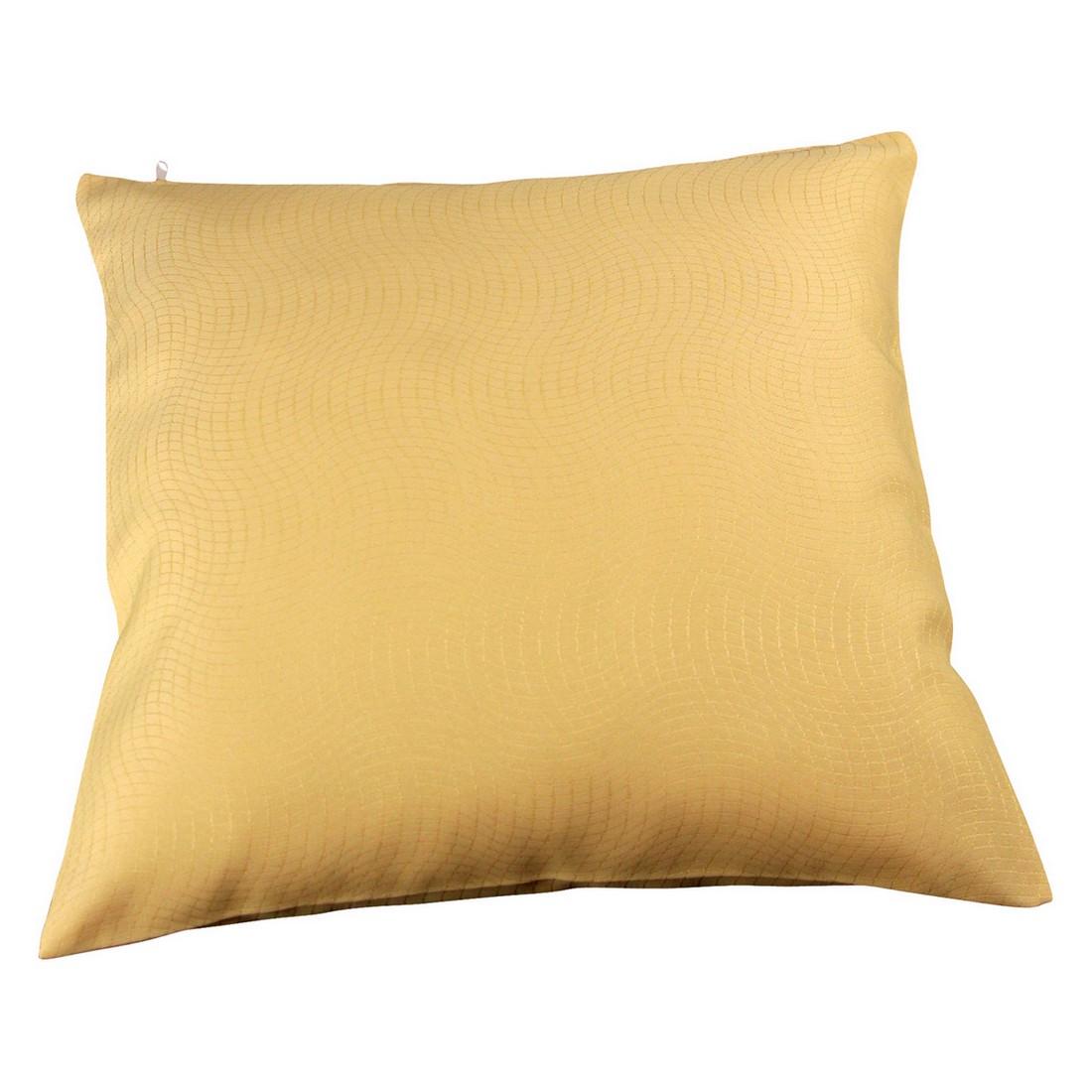 Kissenhülle Mosso (2er,4er oder 6er-Set) – Gelb – 40 x 40 cm – 4 Kissen, MiBiento Living online kaufen