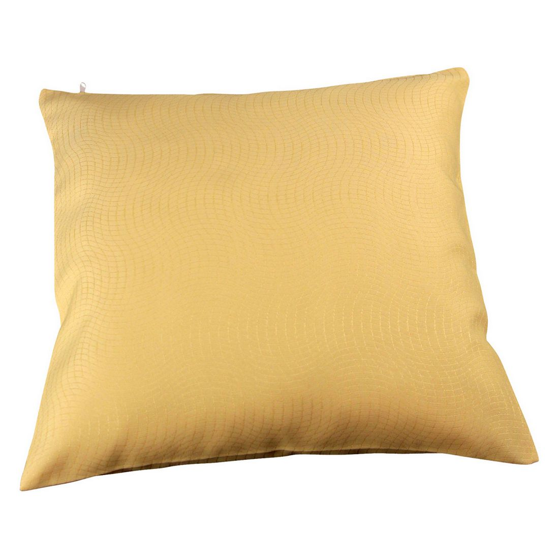 Kissenhülle Mosso (2er,4er oder 6er-Set) – Gelb – 50 x 50 cm – 6 Kissen, MiBiento Living günstig