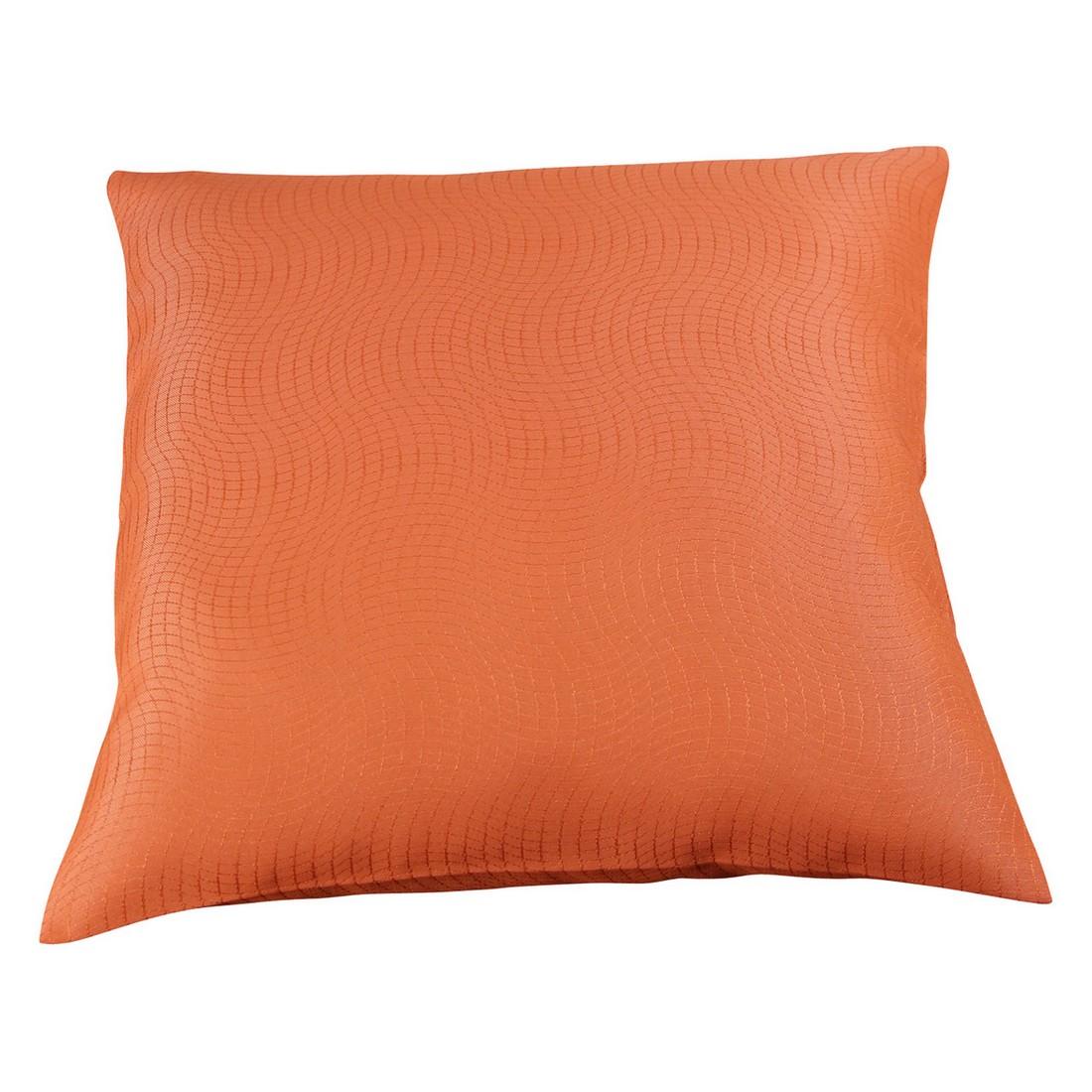 Kissenhülle Mosso (2er,4er oder 6er-Set) – Rotbraun – 40 x 40 cm – 4 Kissen, MiBiento Living bestellen