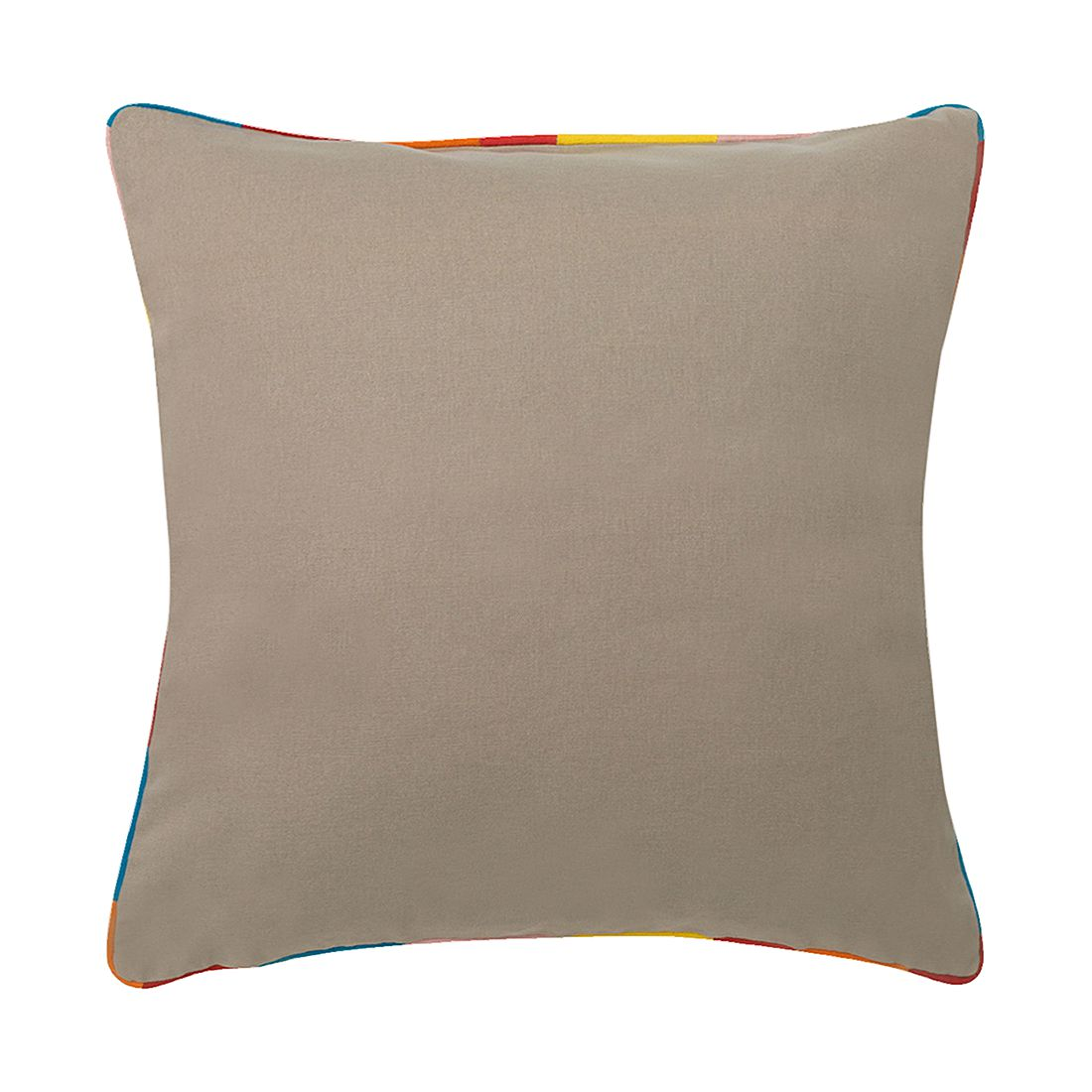 Kissen Muret – 45 X 45 cm, Grau, Baumwolle – Kissenhülle, ohne Füllung, Dutch Decor günstig bestellen