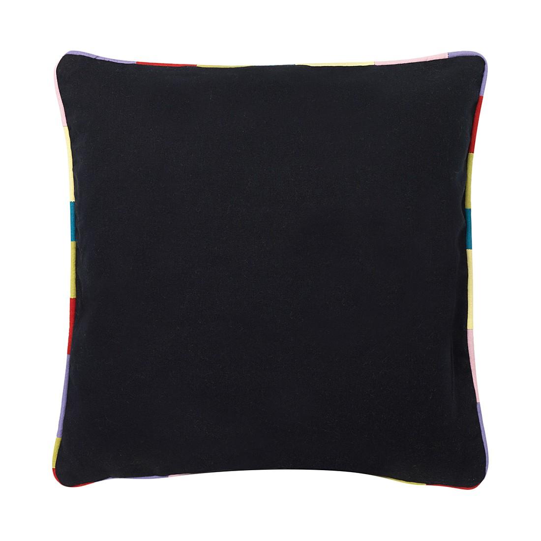 Kissen Muret – 45 X 45 cm, Schwarz, Baumwolle – Kissenhülle, ohne Füllung, Dutch Decor günstig kaufen
