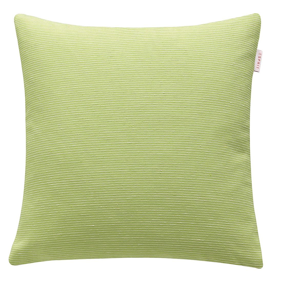 Kissenhülle Needlestripe – Lime, Esprit Home online kaufen